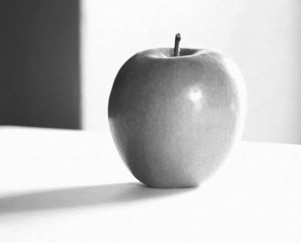 Apple Peel Wall Art - Photograph - Organic...apple...infrared by Tom Druin