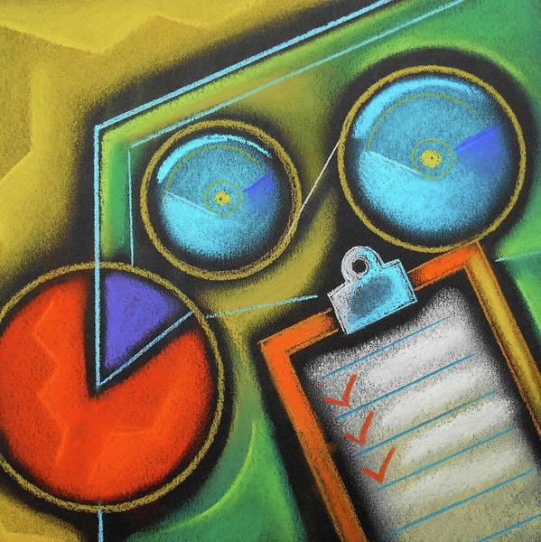 Wall Art - Painting - Organizing by Leon Zernitsky