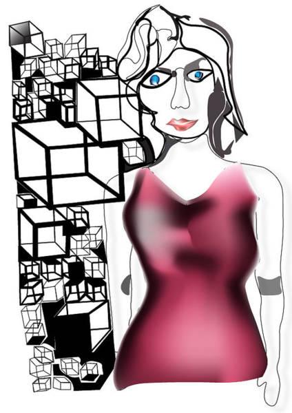Digital Art - Organizing Memories by Tatiana Hallack