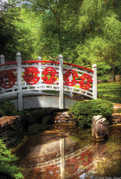 Photograph - Orient - Bridge - Tranquility by Mike Savad