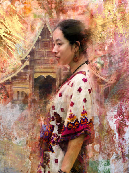 Scumble Wall Art - Photograph - Oriental Beauty by Steven Boone
