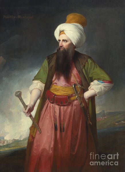 Painting - Oriental Chief Of Staff by Celestial Images