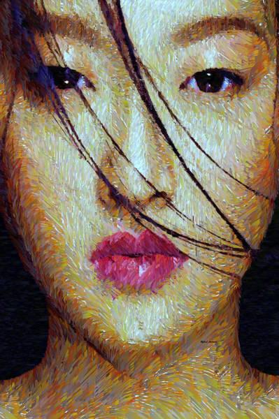 Mixed Media - Oriental Expression 0701 by Rafael Salazar