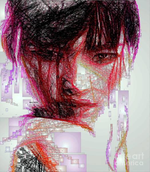 Digital Art - Oriental Portrait by Rafael Salazar