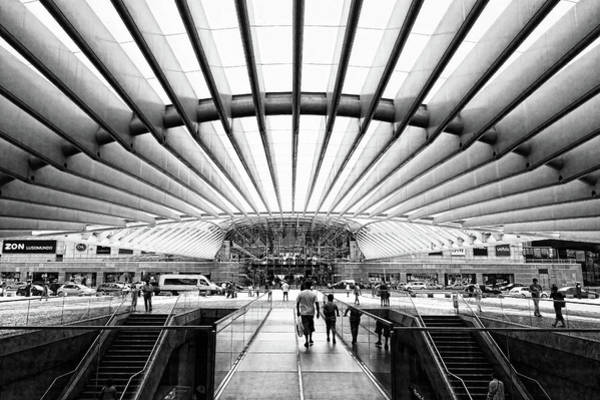 Photograph - Oriente Station by Stefan Nielsen