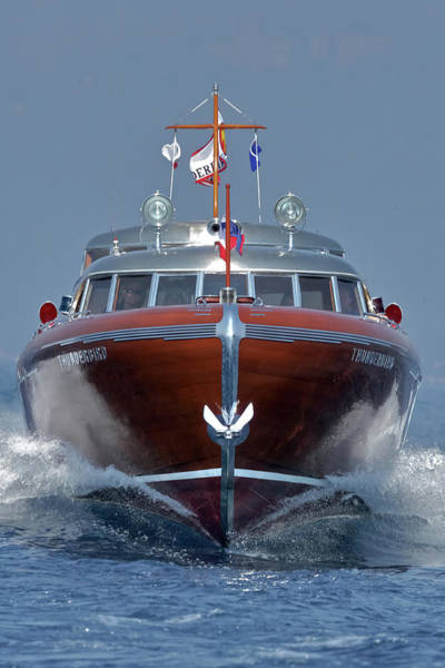Photograph - Thunderbird Yacht - The Original  by Steven Lapkin