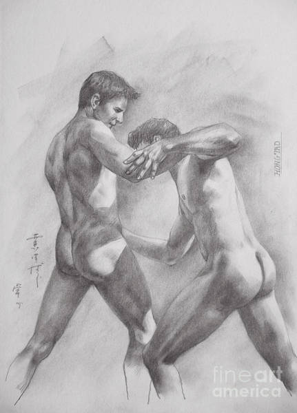 How to draw naked boy — pic 11