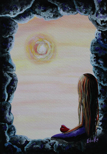 Wall Art - Painting - Original Fantasy Artwork by Erback Art