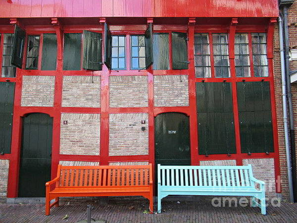 Photograph - Original House In Amersfoort by Chani Demuijlder