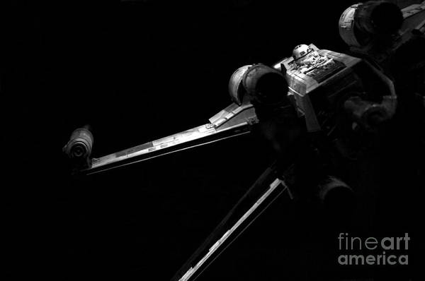 X Wing Photograph - Original Luke Skywalker X-wing Fighter 2 by Micah May
