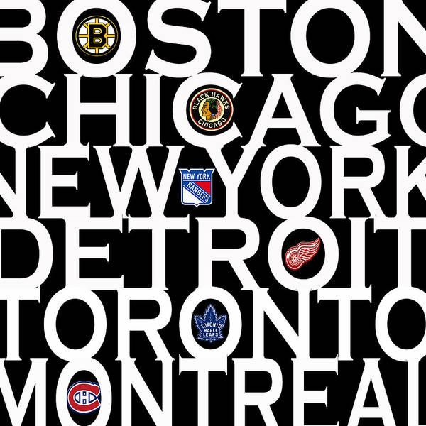Cities Photograph - Original Six by Andrew Fare