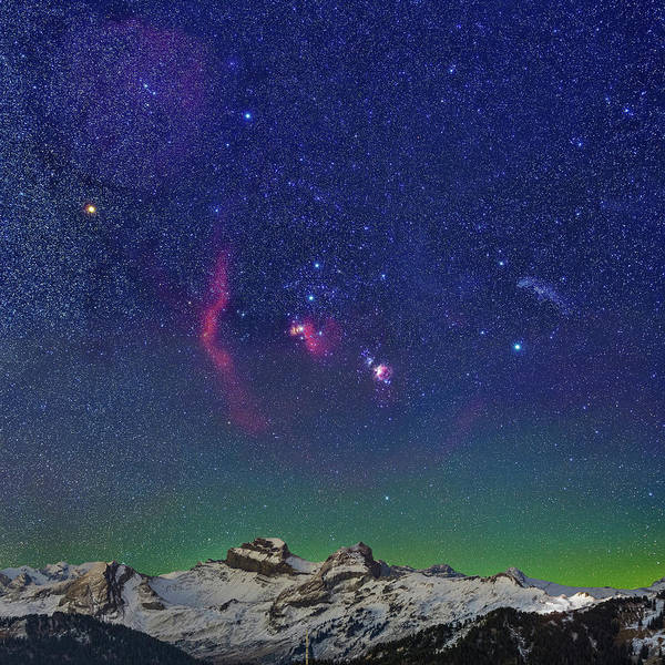 Photograph - Orion by Ralf Rohner