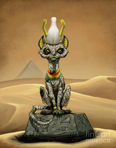 Digital Art - Osiris Egyptian God by Stanley Morrison
