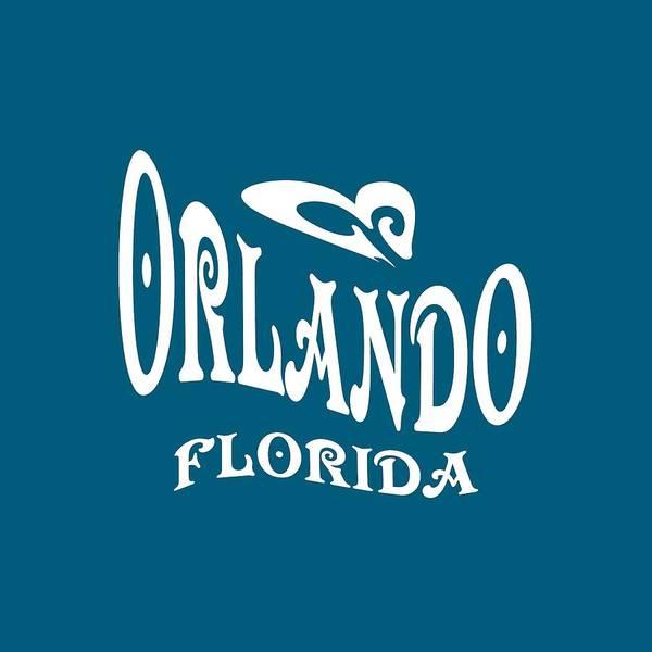 Mixed Media - Orlando Florida Design by Peter Potter