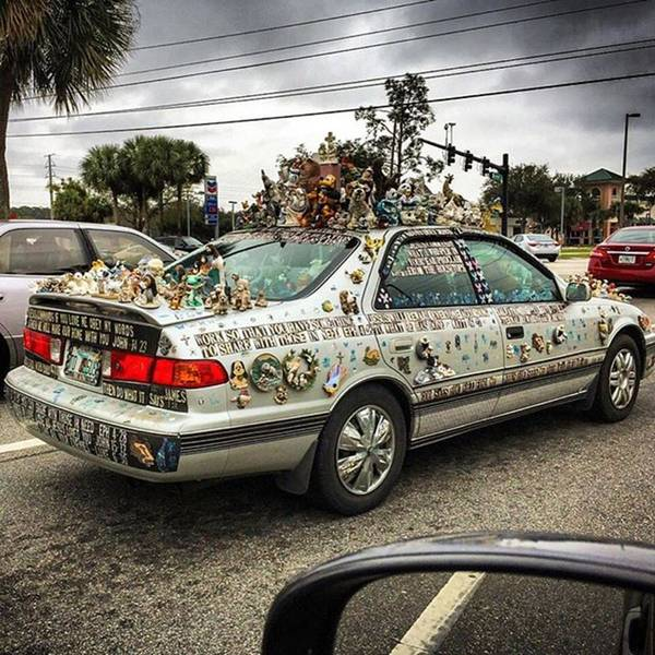 Car Photograph - Orlando, Florida, Usa - January 9th by Juan Silva
