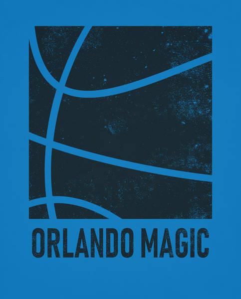 Magician Mixed Media - Orlando Magic City Poster Art 2 by Joe Hamilton