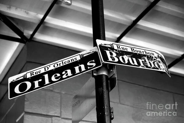 Wall Art - Photograph - Orleans And Bourbon New Orleans Infrared by John Rizzuto