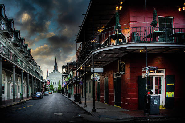 Wall Art - Photograph - Orleans Street To St Louis Cathedral by Greg and Chrystal Mimbs