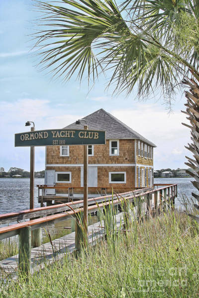 Wall Art - Photograph - Ormond Yacht Club by Deborah Benoit