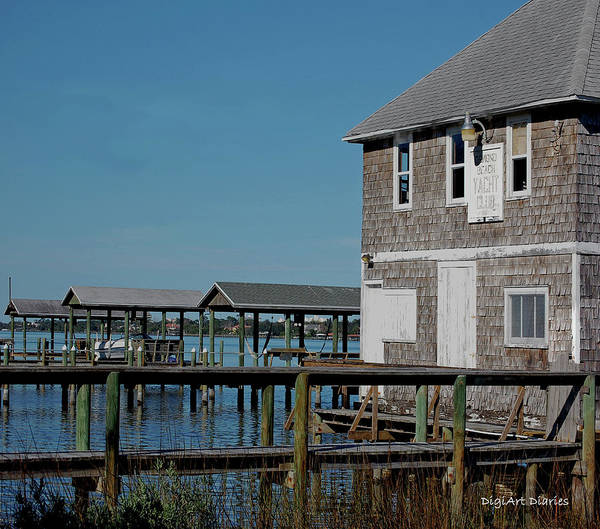 Ormond Photograph - Ormond Yacht Club Est 1910 by DigiArt Diaries by Vicky B Fuller