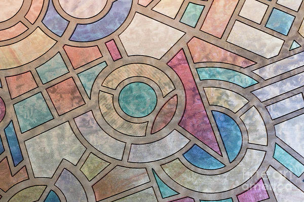 Wall Art - Photograph - Ornamental Colored Stained Glass by Michal Boubin