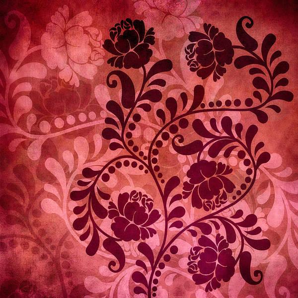 Digital Art - Ornamental Romance by Angelina Tamez