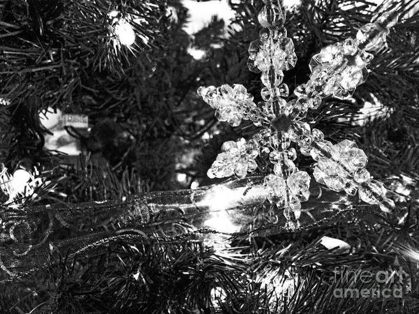 Photograph - Ornamental Snowflake by Robert Knight
