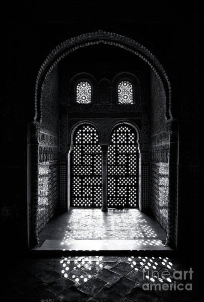 Granada Wall Art - Photograph - Ornate Alhambra Window by Jane Rix
