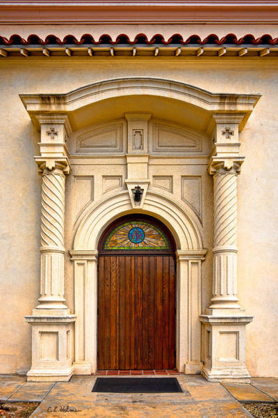 Photograph - Ornate Entrance by Christopher Holmes