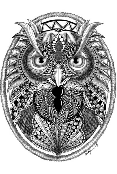 Photograph - Ornate Owl by Becky Herrera