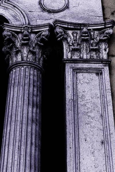 Photograph - Ornate Pillars by Garry Gay