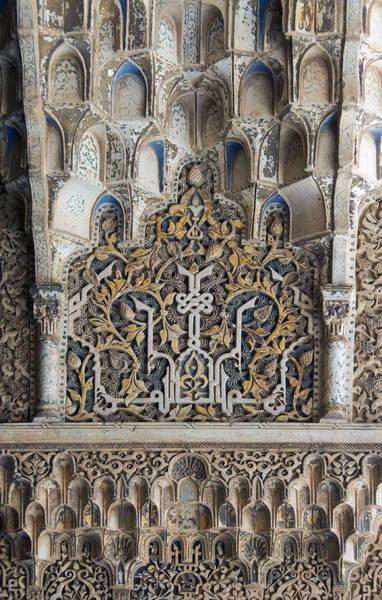 Photograph - Ornate Plasterwork by David Kleinsasser