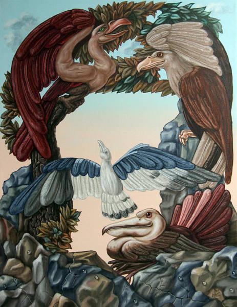 Ornithological Symphony By Ludwig Van Beethove Art Print