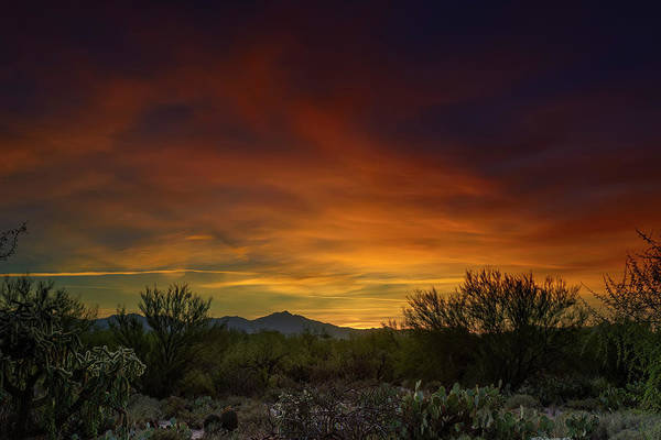Photograph - Oro Valley Sunset H02 by Mark Myhaver
