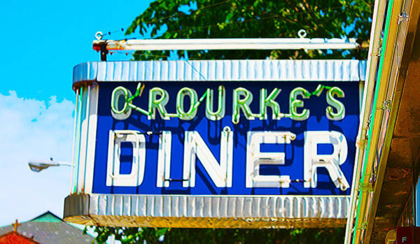 Photograph - O'rourke's Diner by Susan Vineyard