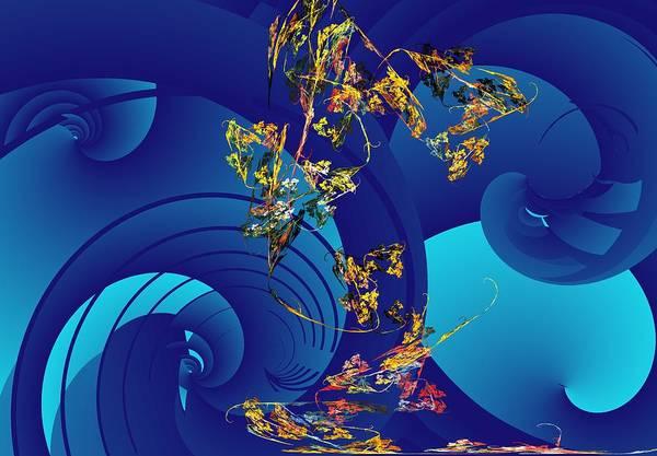 Reef Diving Digital Art - Orphaned  by David Lane