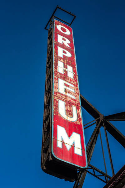 Photograph - Orpheum Vertical by Todd Klassy