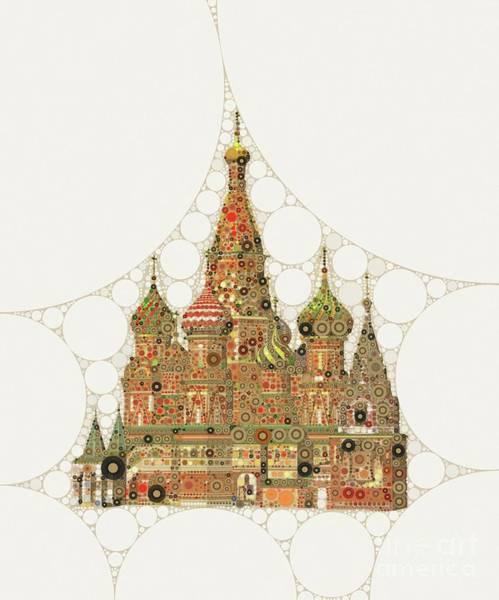 Church Digital Art - Orthodox Church by Mary Bassett