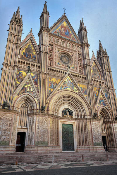 Wall Art - Photograph - Orvieto Italy Cathedral by Joan Carroll