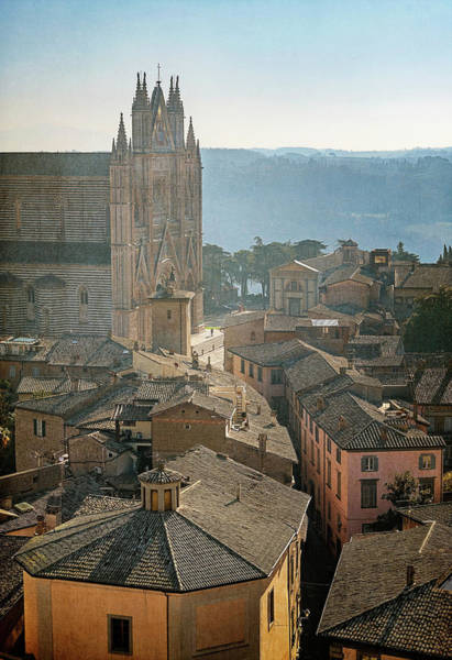 Wall Art - Photograph - Orvieto Italy Cityscape by Joan Carroll