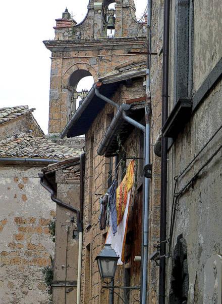 Wall Art - Photograph - Orvieto Laundry by Mindy Newman
