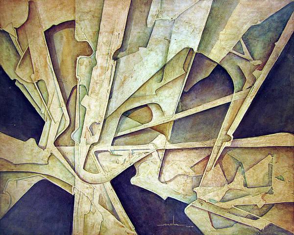 Wall Art - Painting - Os1974ny002 Purification Of The Light 20x16 by Alfredo Da Silva