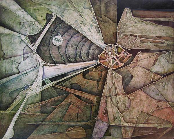 Wall Art - Painting - Os1974ny003 Sinfonia Of The Light 20x16 by Alfredo Da Silva