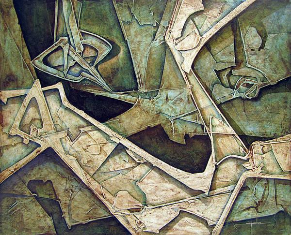 Wall Art - Painting - Os1974ny006 Quietud Inquieta 20x16 by Alfredo Da Silva