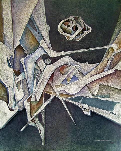 Wall Art - Painting - Os1974ny007 Silver Age 16x20 by Alfredo Da Silva