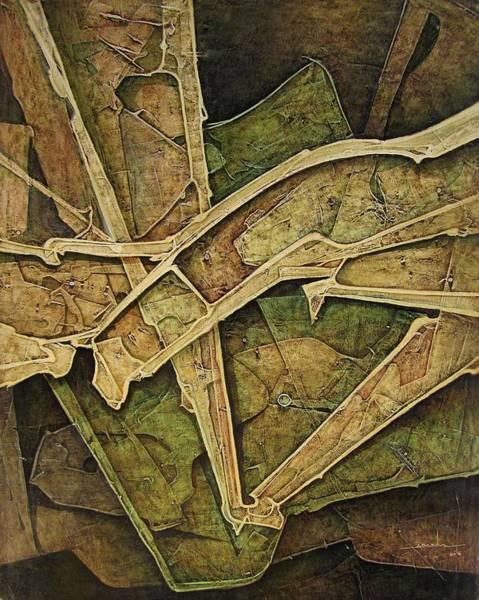Wall Art - Painting - Os1974ny010 Esplendid Forms 16x20 by Alfredo Da Silva