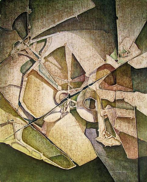 Wall Art - Painting - Os1974ny011 The Triumph Of The Light 16x20 by Alfredo Da Silva
