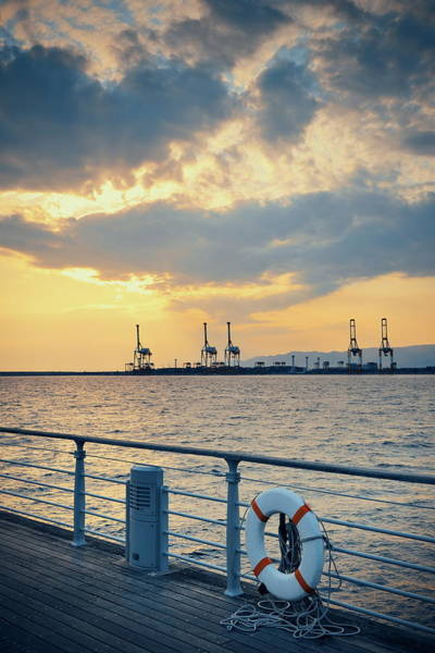 Photograph - Osaka Seaport by Songquan Deng