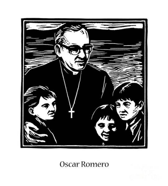 St. Oscar Romero - Jlosc Art Print