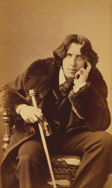 Napoleon Photograph - Oscar Wilde - Irish Author And Poet by War Is Hell Store
